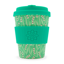 Ecoffee Cup Bamboo Fibre Takeaway Cup Tiny Garden Amstel 12oz 340ml Singapore