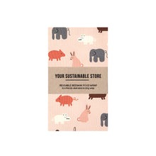 Beeswax Wrap Organic Cotton Large Animal Farm Singapore