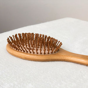 Bamboo Hairbrush with Bamboo Pins Singapore