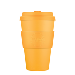 Ecoffee Cup Bamboo Fibre Takeaway Cup Bananafarma 14oz 400ml Singapore