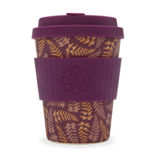Ecoffee Cup Bamboo Fibre Takeaway Cup Tiny Garden Beatrix 12oz 340ml Singapore