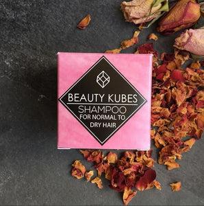 Beauty Kubes Singapore Normal to Dry Hair Shampoo Cubes
