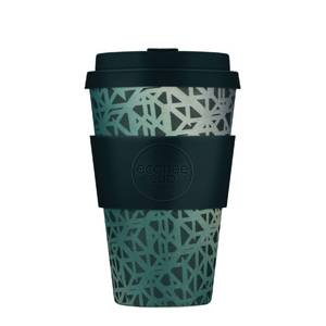 Ecoffee Cup Bamboo Fibre Takeaway Cup Blackgate 14oz 400ml Singapore