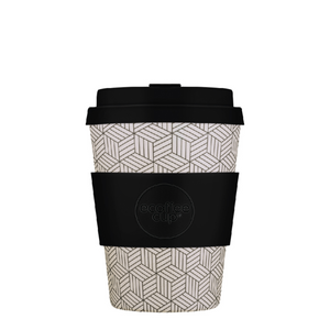 Ecoffee Cup Bamboo Fibre Takeaway Cup Bonfrer 12oz 350ml Singapore