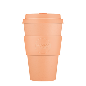Ecoffee Cup Bamboo Fibre Takeaway Cup Catalina Happy Hour 14oz 400ml Singapore