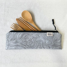 Travel Bamboo Cutlery Pouch Set Contours Singapore