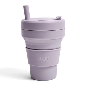 16oz Stojo Biggie Lilac Collapsible Cup Singapore