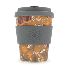 Ecoffee Cup Bamboo Fibre Takeaway Cup Tiny Garden Darwin 12oz 340ml Singapore