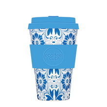 Ecoffee Cup Bamboo Fibre Takeaway Cup Delft Touch 14oz 400ml Singapore