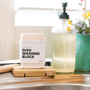 Zero waste vegan dish washing block Singapore