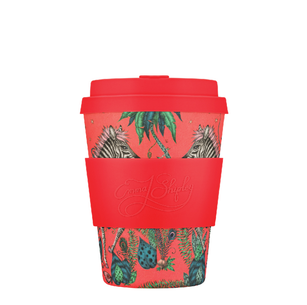 Ecoffee Cup Bamboo Fibre Takeaway Cup Emma J Shipley Lost World 12oz 350ml Singapore