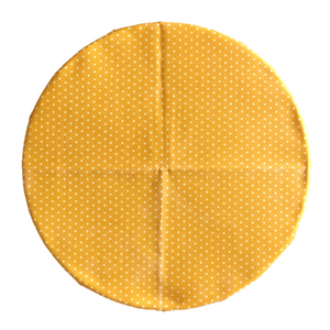 SuperBee Beeswax Wrap Yellow Polka Small Singapore