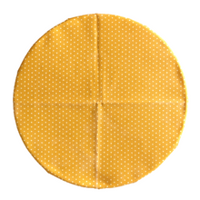 SuperBee Beeswax Wrap Yellow Polka Large Singapore