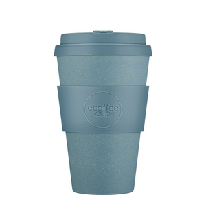 Ecoffee Cup Bamboo Fibre Takeaway Cup Gray Goo 14oz 400ml Singapore