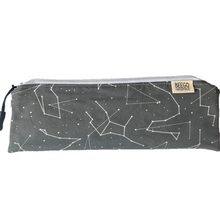Travel Bamboo Cutlery Pouch Set Grey Constellation Singapore
