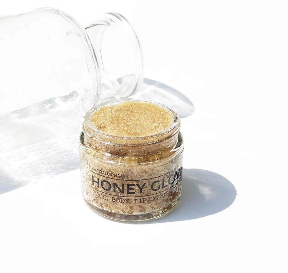 The Mineraw Natural Skincare Honey Glow Scrub Singapore