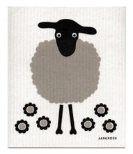 Swedish Dishcloth Black Sheep