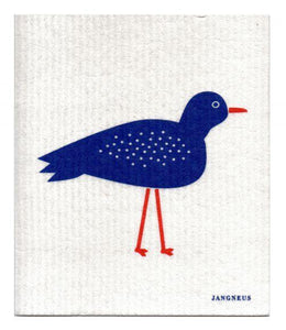 Swedish Dishcloth Blue Bird