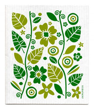 Swedish Dishcloth Green Garden