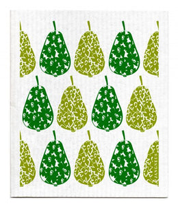Swedish Dishcloth Green Pears