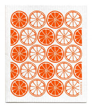 Swedish Dishcloth Orange Citrus