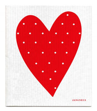 Swedish Dishcloth Red Heart