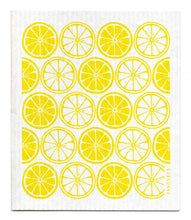 Swedish Dishcloth Yellow Citrus