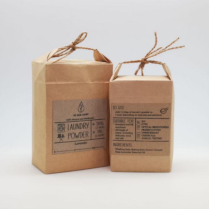 Zero waste natural laundry powder Singapore