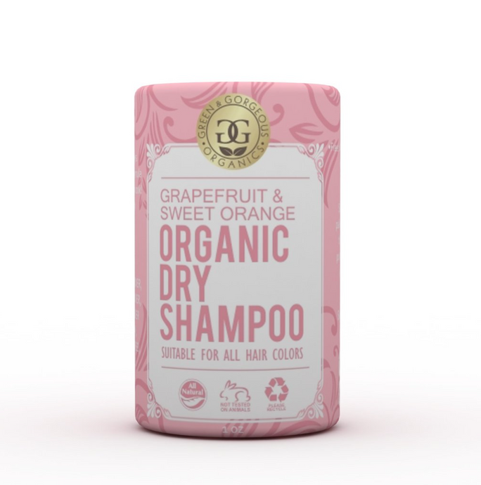 Organic Dry Shampoo Grapefruit & Sweet Orange Singapore