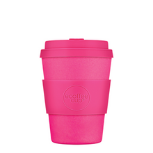Ecoffee Cup Bamboo Fibre Takeaway Cup Pink'd 12oz 350 ml Singapore