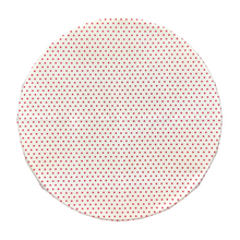 Beeswax Wrap Retro Red Polka Large