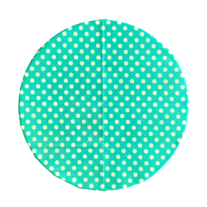 SuperBee Beeswax Wrap Teal Polka Medium Singapore