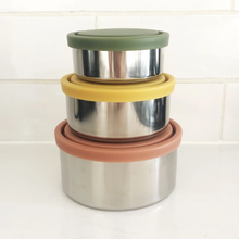 EverEco Stainless Steel Round Nesting Containers Autumn Singapore