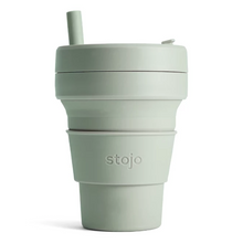 16oz Stojo Biggie Sage Collapsible Cup Singapore