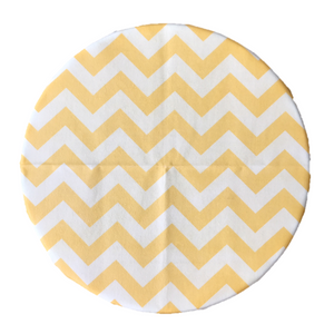 SuperBee Beeswax Wrap Yellow Zigzag Large Singapore