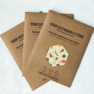 Your Sustainable Store Organic Cotton Beeswax Wrap Singapore
