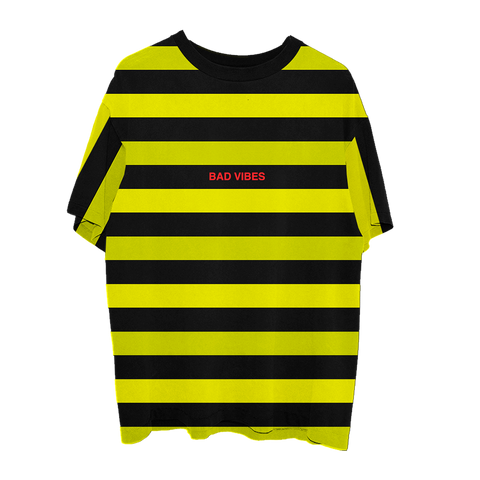 BAD VIBES FOREVER STRIPED TEE I