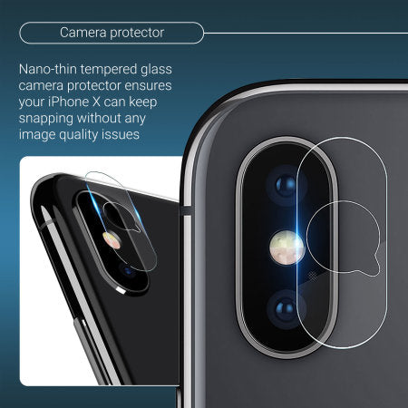 Full 360° iPhone X Protection Kit