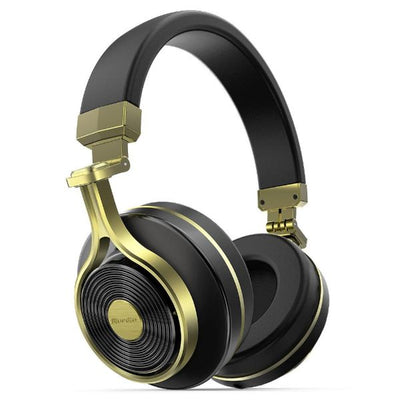 3D Stereo Brass Wireless Headphone