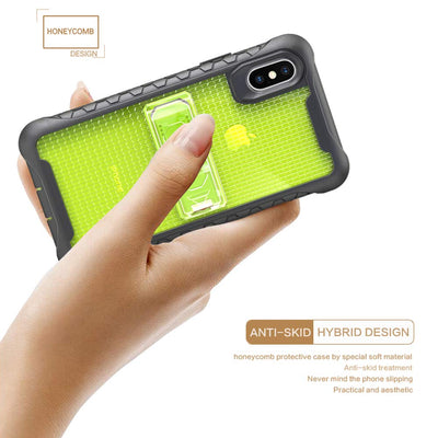 Honey Comb Series - 360° Protection Case for iPhone X XS Max