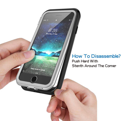 Full-body Rugged Clear Bumper Case For iPhone