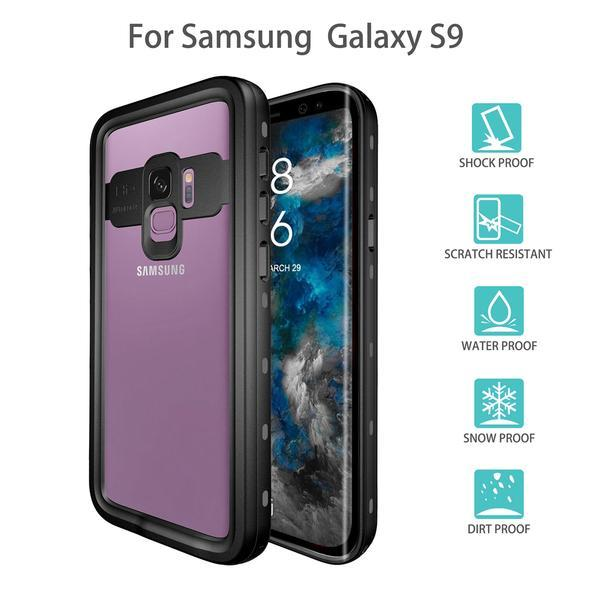 best service e95a8 eeb6f Alignment Waterproof And Shockproof Case S8/S9 - FREE HEADPHONES
