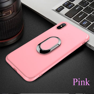 Anti-knock matte iPhone X case