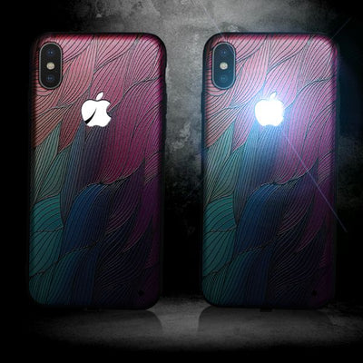 Apple Led Logo Case For iPhone +FREE SCREEN PROTECTOR