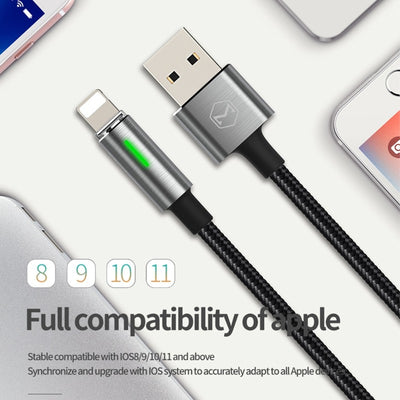 Auto Disconnect Fast Charging Data Cable