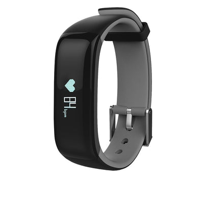 Blood Pressure Heart Rate Monitor Fitness Tracker IP67 Waterproof Colorful Screen Smart Band