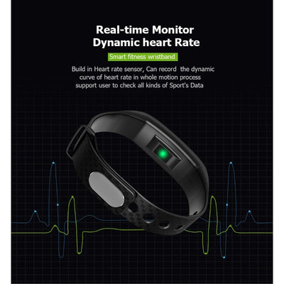 CK17 Waterproof Dynamic Heart Rate Blood Pressure Smart Bracelet