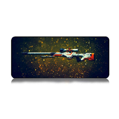 CS GO AWP Rifle Large Gaming Mouse Pad