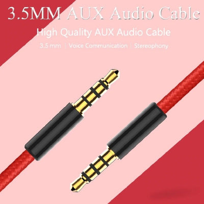 Car Audio Braided Stereo Cord Aux Cable