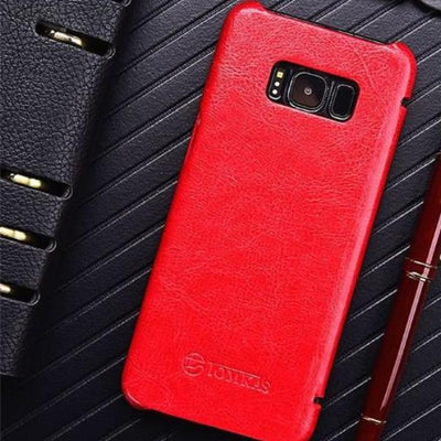 Cool Leather Flip Case Samsung S8